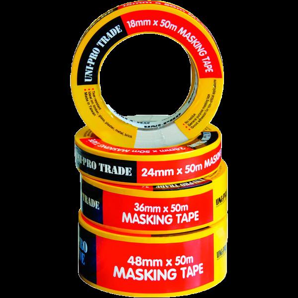 Uni-Pro Masking Tape 24mm x 50m