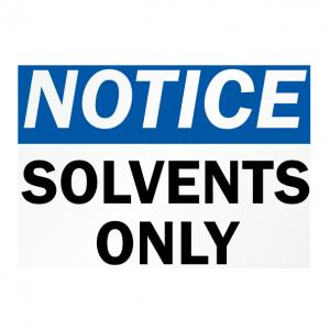 Solvent Based Membranes