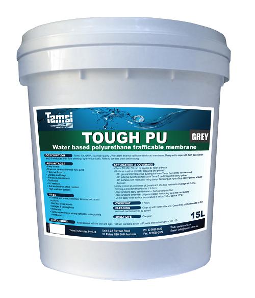 Tough Pu Grey 15L